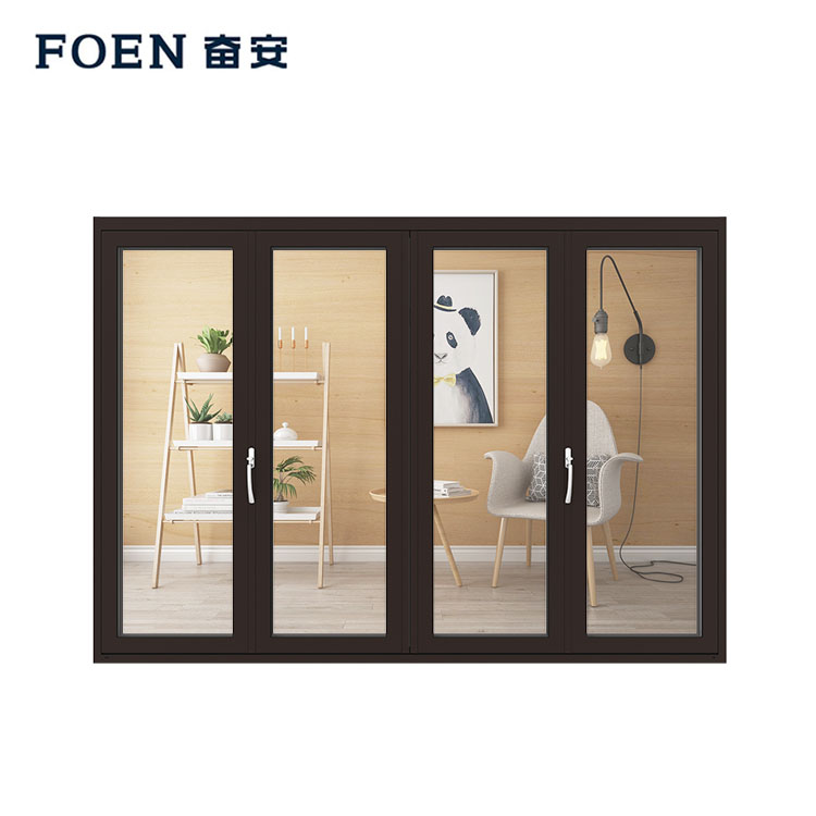 bedroom aluminium folding doors