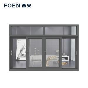 Aluminum horizontal sliding windows